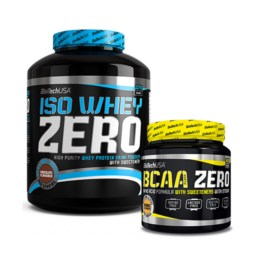ISO WHEY ZERO + BCAA FLASH ZERO