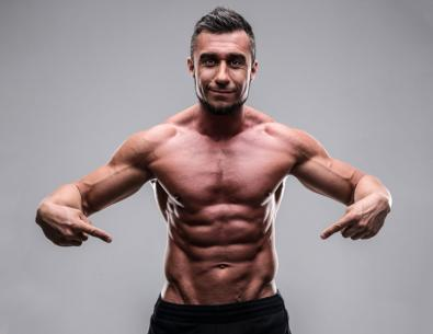 Trening siłowy w Men's Physique
