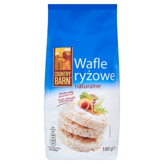Country Barn Wafle ryżowe naturalne 100 g