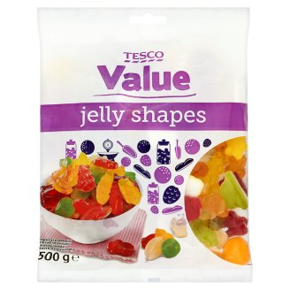 Tesco Value Żelki owocowe 500 g