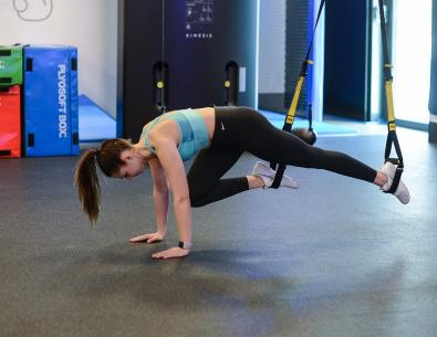 Mountain climbers TRX