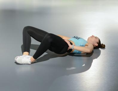 Frog hip thrust